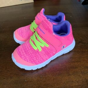 Champion pink sneakers toddler size 6